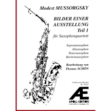 MUSSORGSKY Modest: Pictures at an Exhibition, Part 1 (Bilder einer Ausstellung, Teil 1)