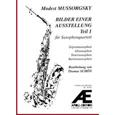 MUSSORGSKY Modest: Pictures at an Exhibition, Part 1 (Bilder einer Ausstellung, Teil 1)