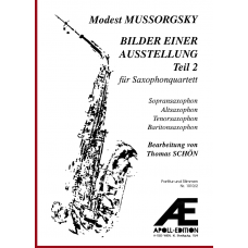 MUSSORGSKY Modest: Pictures at an Exhibition, Part 2 (Bilder einer Ausstellung, Teil 2)