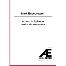 ENGEBRETSON Mark: An Arc in Solitude