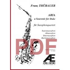 THÜRAUER Franz: Aria (a Souvenir for Duke)