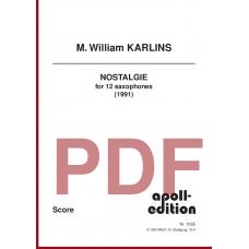 KARLINS M. William: Nostalgie (1991)