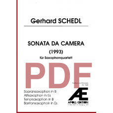 SCHEDL Gerhard: Sonata da Camera (1993)