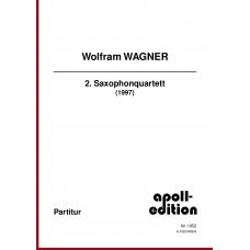 WAGNER Wolfram: 2. Saxophonquartett (1997)