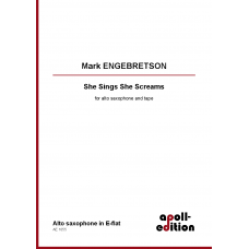ENGEBRETSON Mark: She Sings She Screams