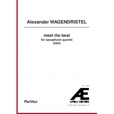 WAGENDRISTEL Alexander: meet the beat