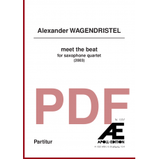WAGENDRISTEL Alexander: meet the beat