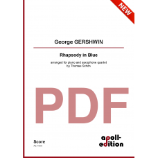 GERSHWIN George: Rhapsody in Blue