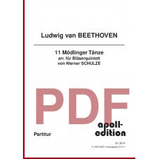 BEETHOVEN Ludwig van: Mödlinger Tänze