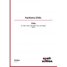 ESSL Karlheinz: Cinq (2007)