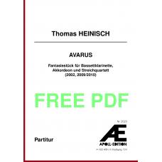 HEINISCH Thomas: Avarus