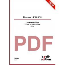 HEINISCH Thomas: Quartettstück