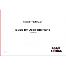 FREISITZER Roland: Music for Oboe and Piano