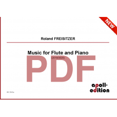 FREISITZER Roland: Music for Flute and Piano