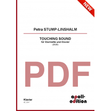 STUMP-LINSHALM Petra: TOUCHING SOUND