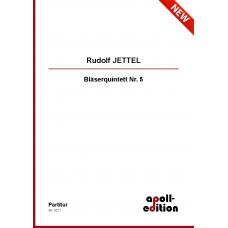 JETTEL Rudolf: Bläserquintett Nr. 5