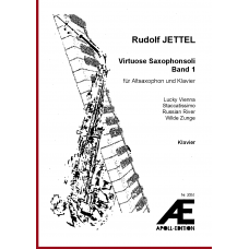 JETTEL Rudolf: Virtuose Saxophonsoli Band I