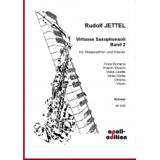 JETTEL Rudolf: Virtuose Saxophonsoli Band II