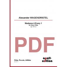 WAGENDRISTEL Alexander: Madness 4 every 1