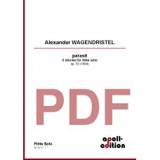 WAGENDRISTEL Alexander: parasit