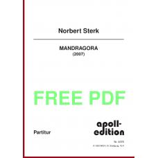 STERK Norbert: MANDRAGORA