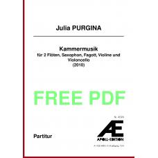 PURGINA Julia: Kammermusik