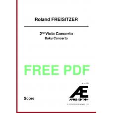 FREISITZER Roland: 2nd viola concerto