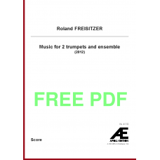 FREISITZER Roland: Music for 2 trumpets and ensemble