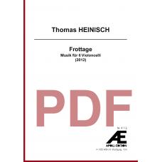 HEINISCH Thomas: Frottage