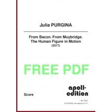 PURGINA Julia: From Bacon. From Muybridge. The Human Figure in Motion.