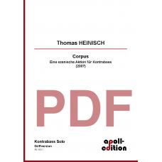 HEINISCH Thomas: Corpus