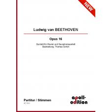 BEETHOVEN Ludwig van: Opus 16