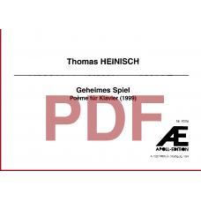 HEINISCH Thomas: Geheimes Spiel (1999)