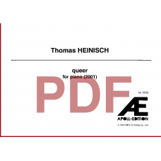 HEINISCH Thomas: Queer (2001)