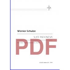 SCHULZE Werner: Suite Indonesia