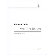 SCHULZE Werner: Ansichtskartengrüße
